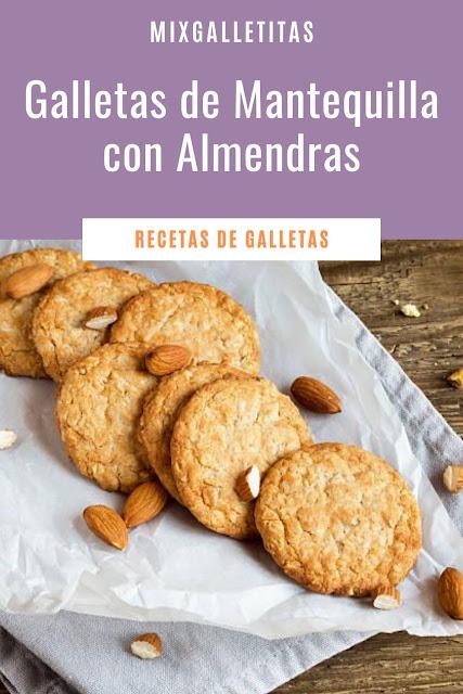Cómo hacer galletas de mantequilla con almendras