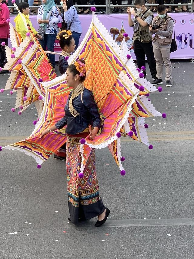 Flower Festival Thailand 2020 costume