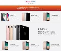 Flipkart Apple Week Sale announced discounts on Apple Devices