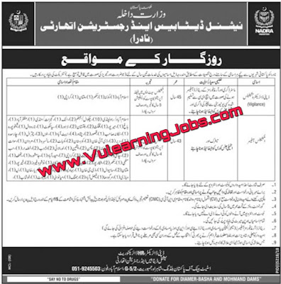 National Database And Registration Authority NADRA Careers | Jobs In Pakistan