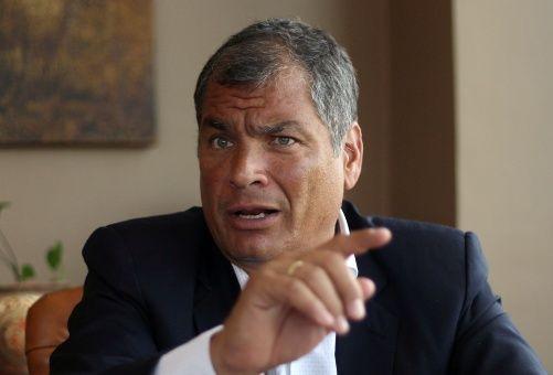 Correa asistirá a Fiscalía a rendir su declaración voluntaria