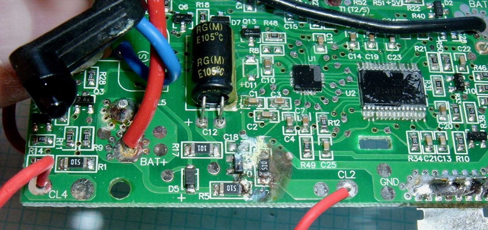 small resolution of  syonyk s project blog tool battery teardowns craftsman 19 2v and on rothenberger 12v battery ridgid v battery schematic