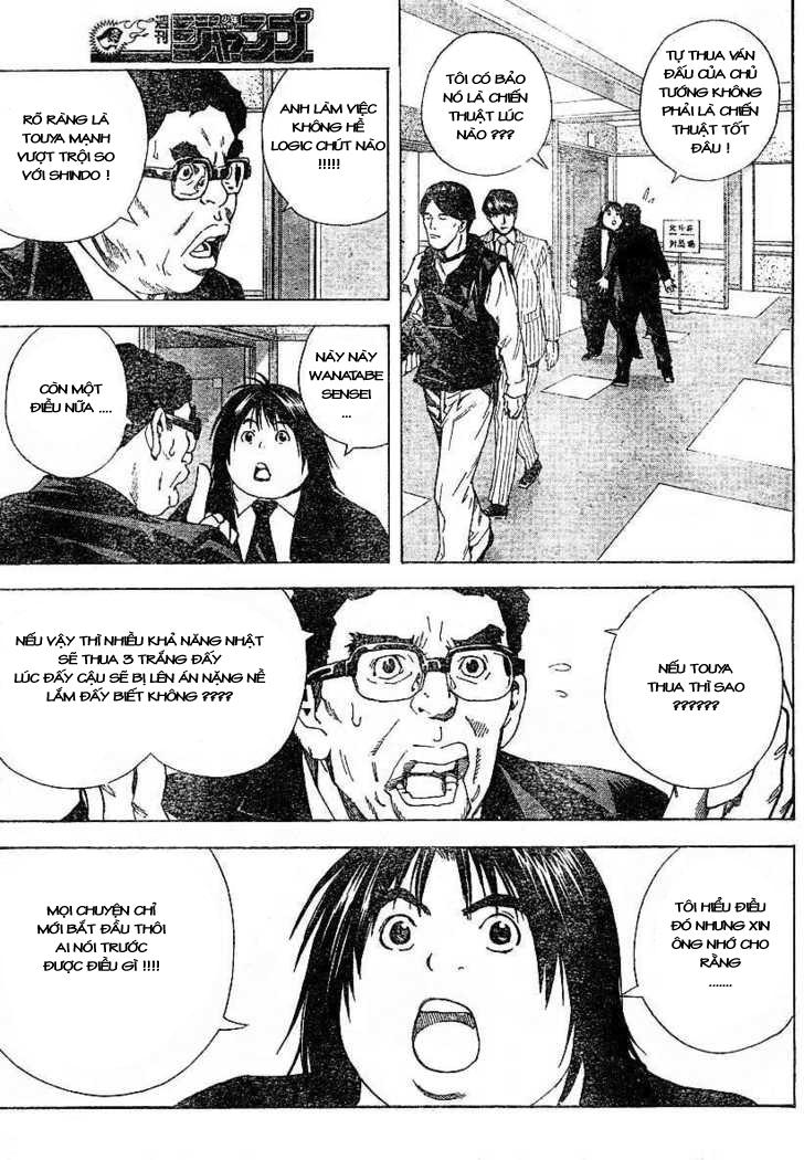 Hikaru No Go hikaru no go chap 184 trang 9