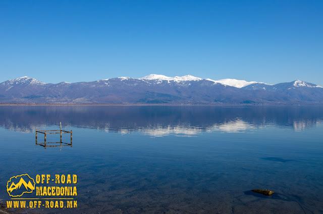 Panoramic view - Prespa Lake