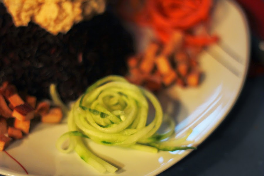 gurke raw food vegan fitness blogger