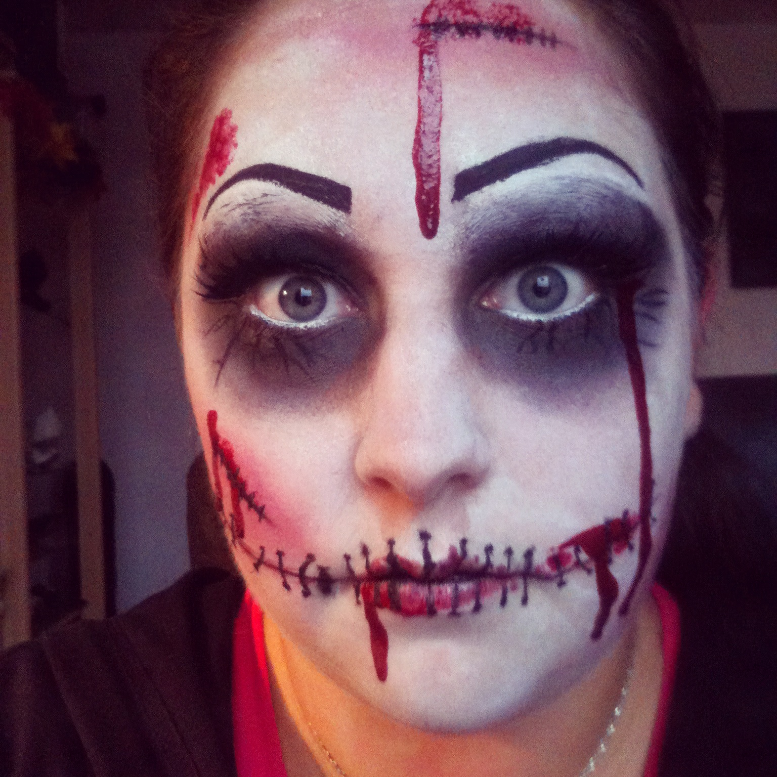 Halloween Make Up Anleitung I Love Beauty Halloween Serie Teil Iv