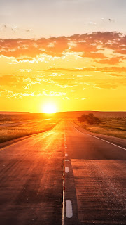 Sunset Highway Mobile HD Wallpaper