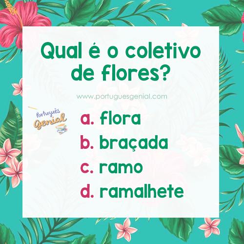 Coletivo de flores - Qual é o coletivo de flores?