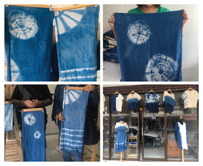 ผ้าพันคอและเสื้อผ้าสำเร็จรูป : อารยา