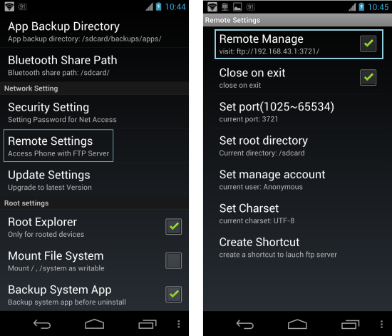 How To Access Folders Of Your Android On Your PC via FTP