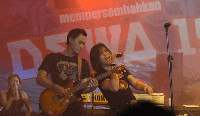 Kunci Gitar Ukulele Senar 4 Kangen Dewa 19 Original Nada Rendah dan Mudah