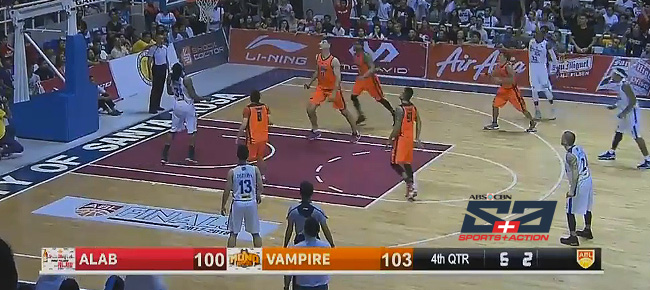 Mono Vampire def. Alab Pilipinas, 103-100 (REPLAY VIDEO) Finals Game 2 | April 25