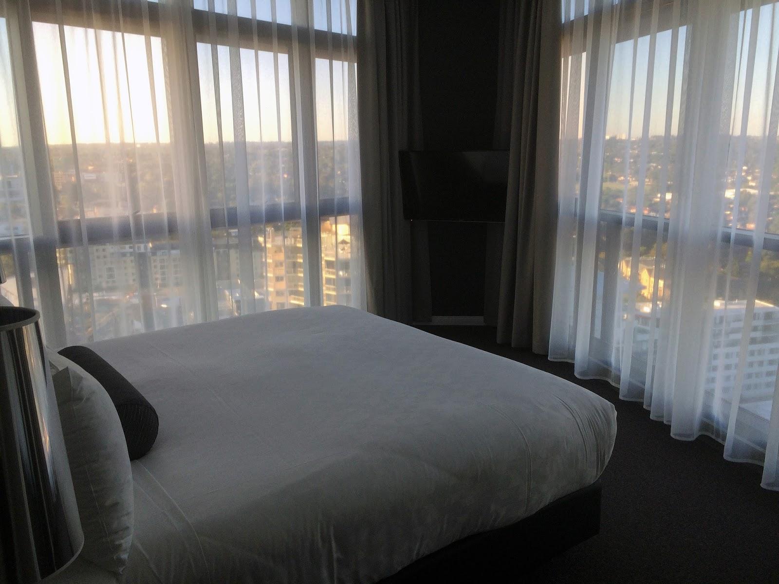 Meriton Church Street Parramatta Master Bedroom