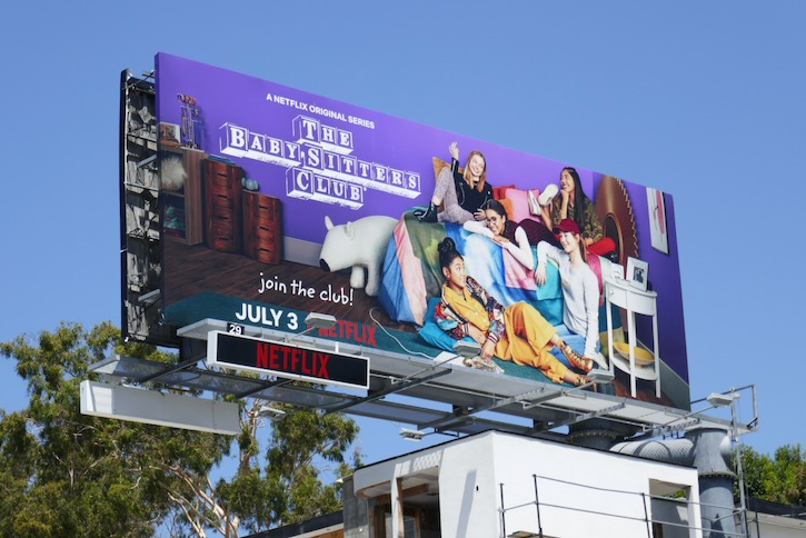 Babysitters Club TV remake billboard