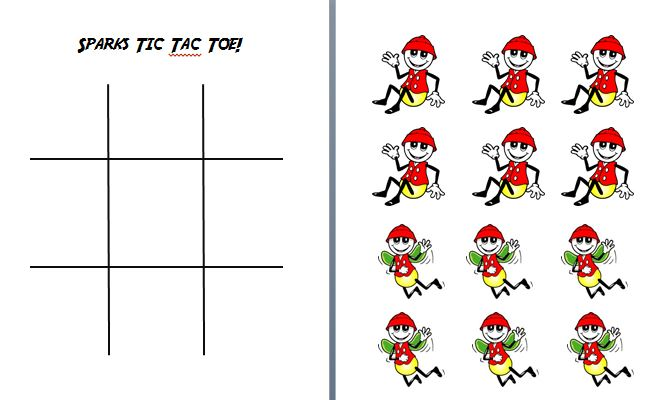 graphic relating to Awana Sparks Verses Printable titled Publications N Boys: Sparks Tic Tac Toe
