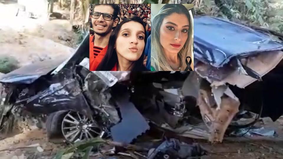 Tragédia: Carro sai da pista em rodovia, bate em árvore, parte ao meio e 3  jovens morrem - Boquira Em Ação - Os destaques da Bahia você vê aqui.