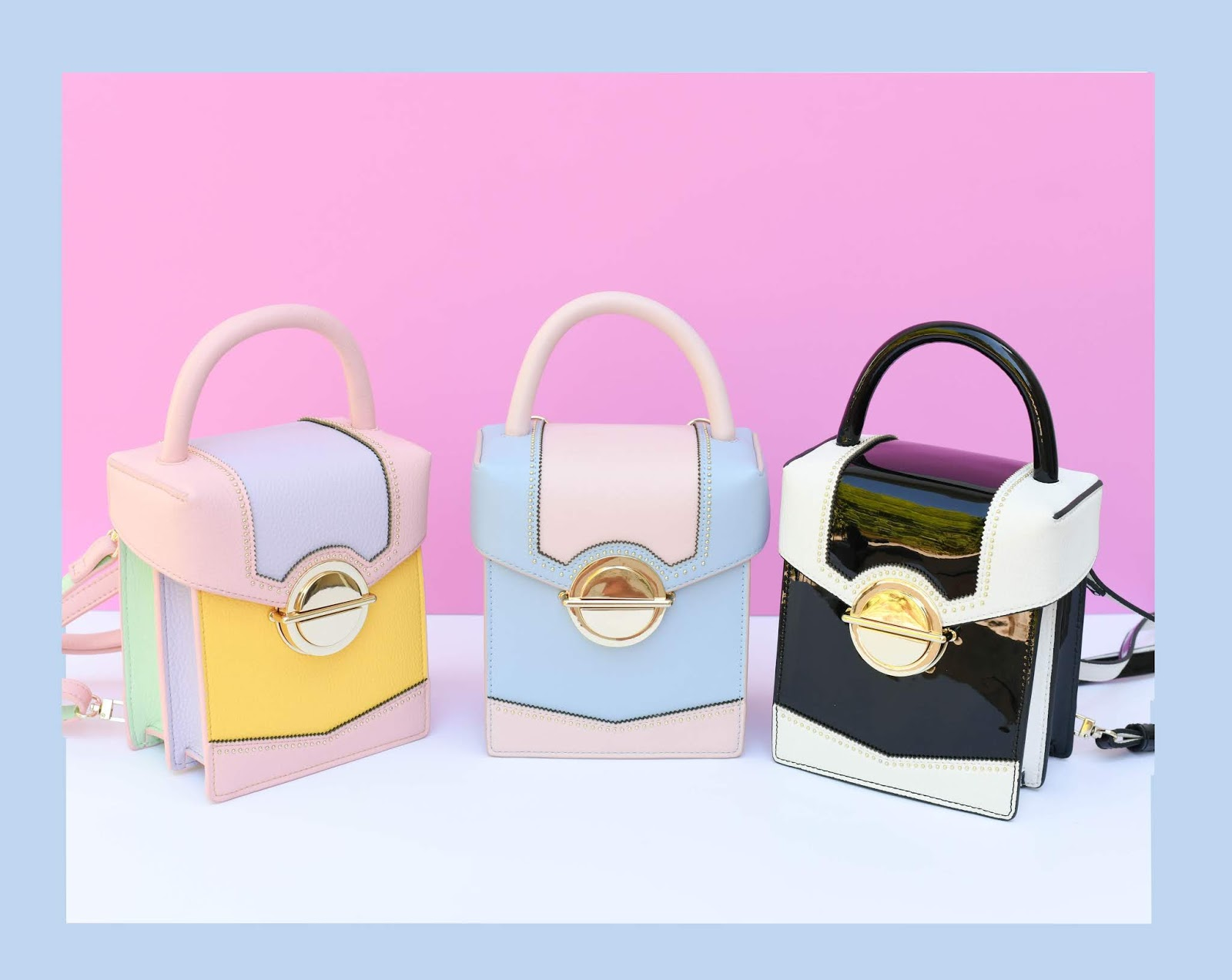 Studio 33 x A Fashion Nerd Vegan Mini Box Bags Launch