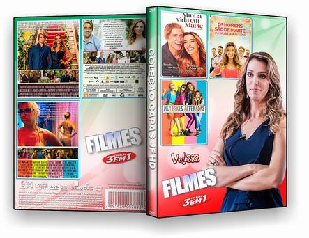 DVD Coleção filmes 3X1 VOL 282 - ISO
