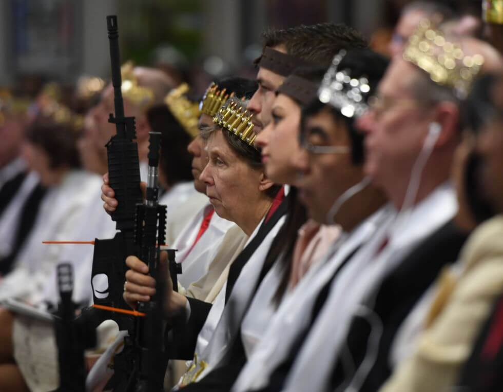 Pictures Of Gun 'Commitment Ceremony' Horrify The US