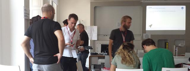Barcamp Hannover 2016 - Gruppe in einer Session