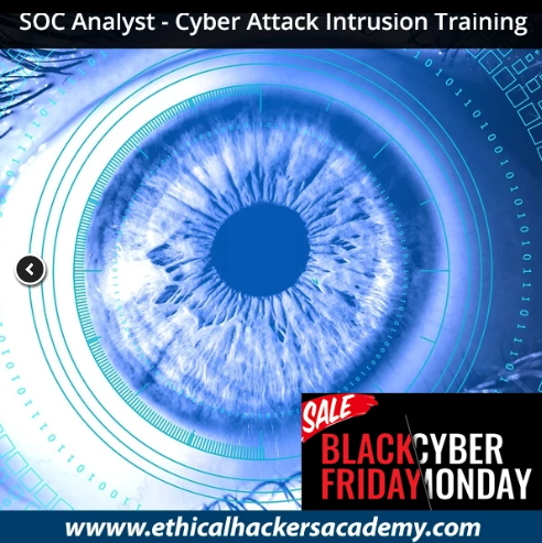 Cyber Monday Online Courses  - soc 2Banalyst - Cyber Monday Online Courses( 90 % OFF)