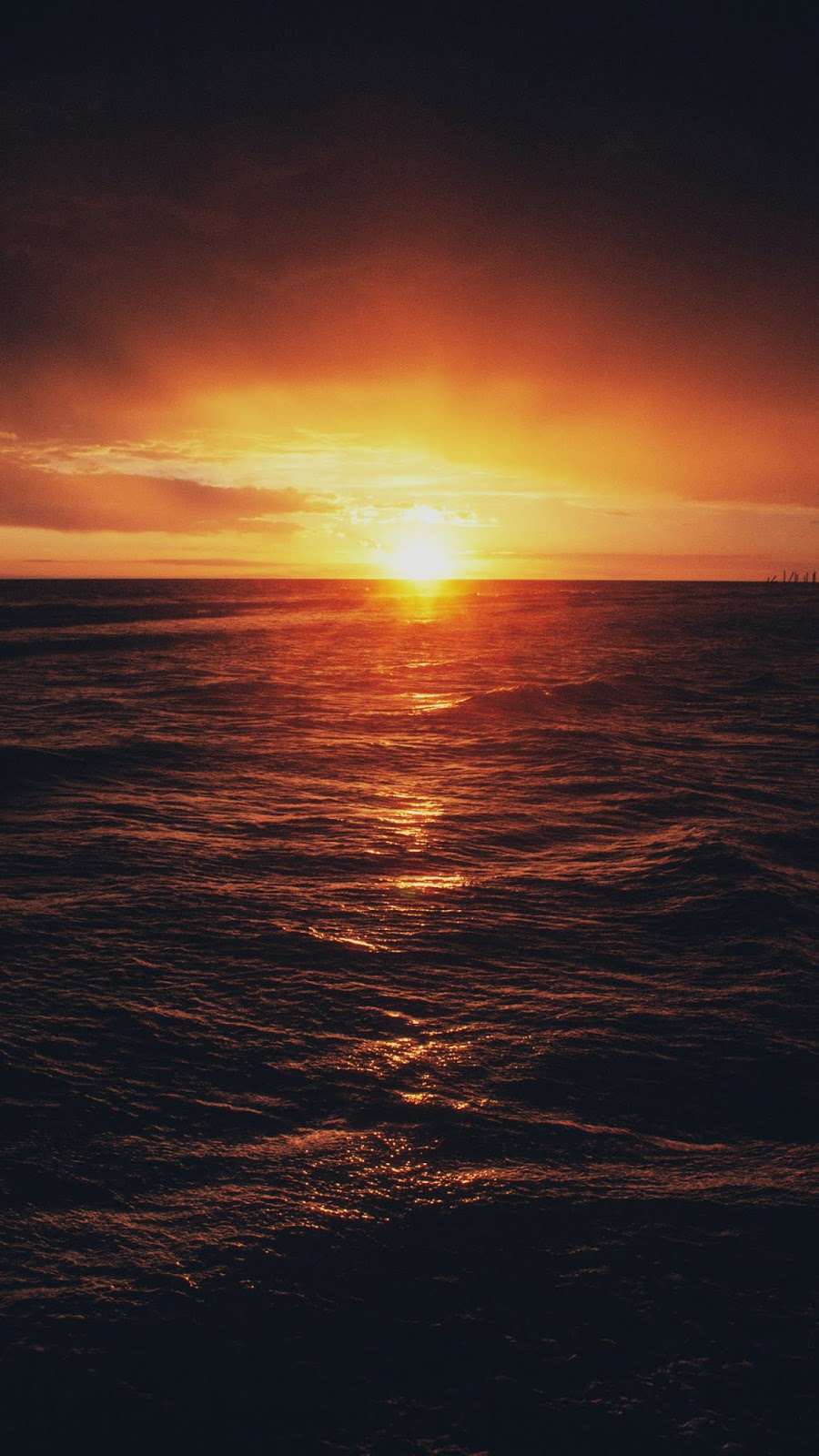 Sunset wallpaper android