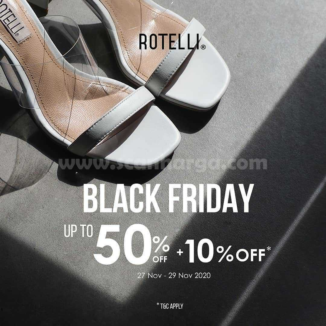 Rotelli Promo Black Friday Sale Up To 50% Off + 10% Off
