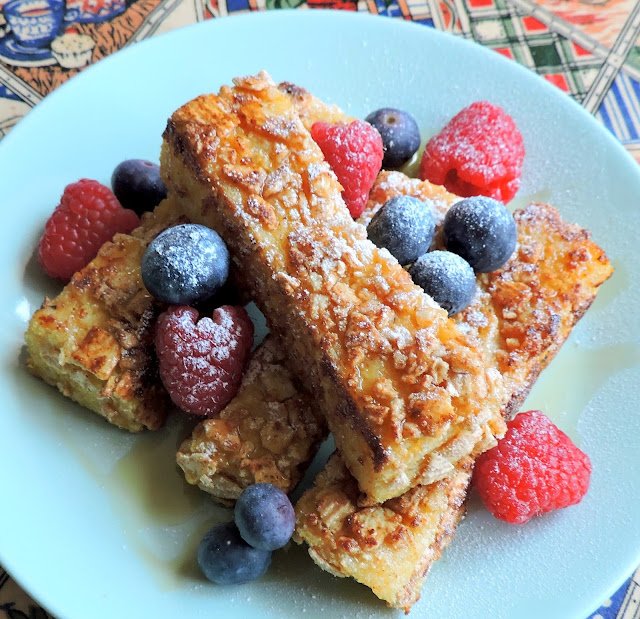Crisp Cereal French Toast Fingers