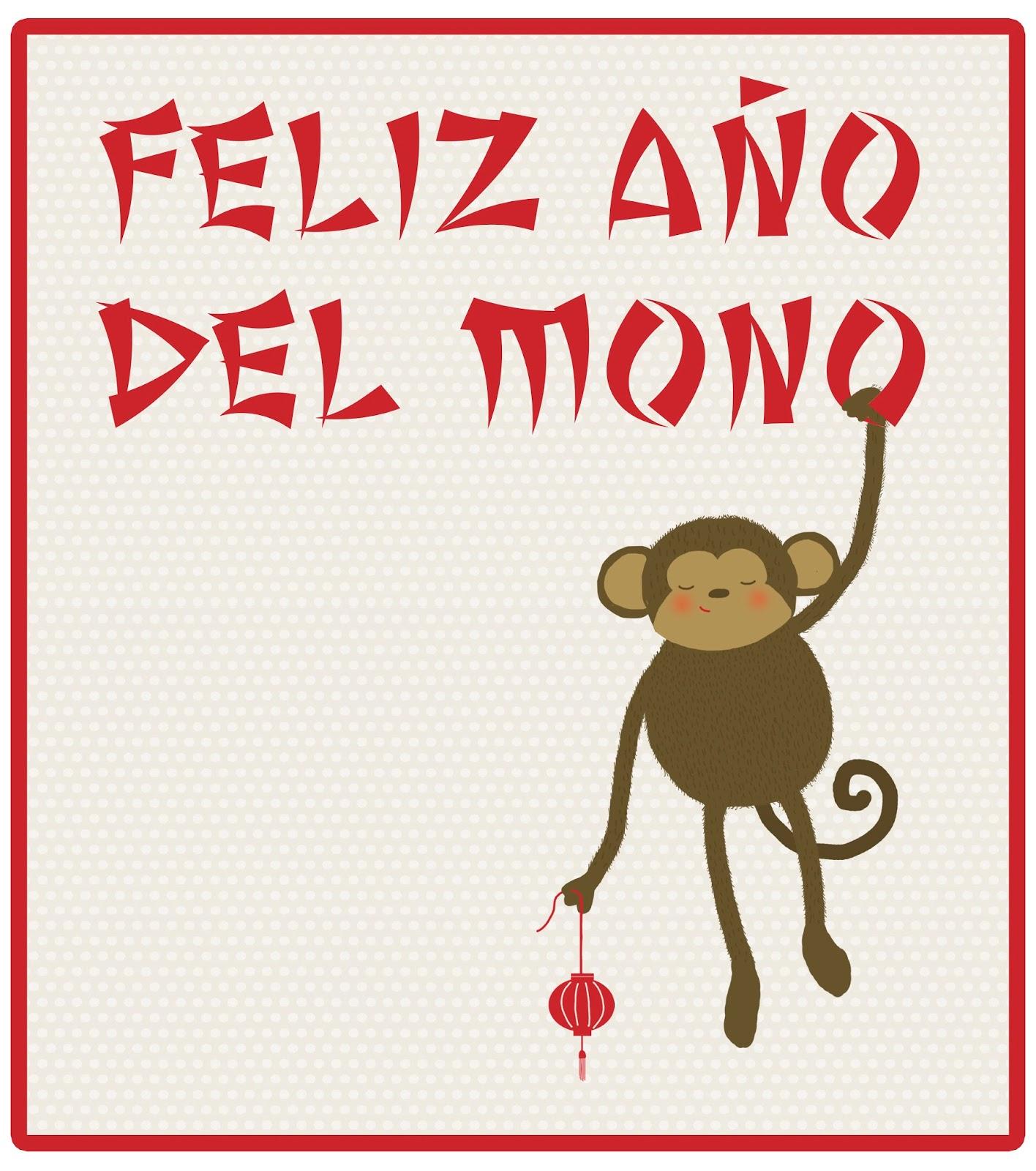 De puntadas y otros enredos: Feliz Año del Mono