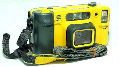 Minolta Weathermatic Dual35 AF Underwater Film Camera (Minolta 35mm F3.5/50mm F5.6 Lens) #314