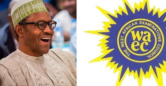 BREAKING NEWS: WAEC presents certificate to Buhari