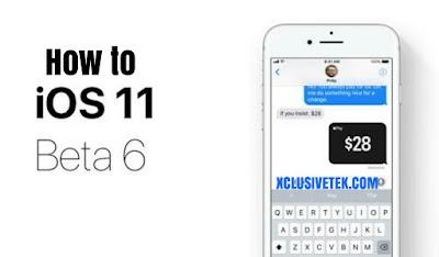 Install iOS 11 Beta 6
