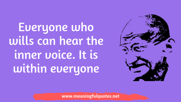 Mahatma Gandhi quotes and images