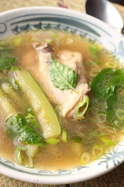 soupe poulet fish sauce asie