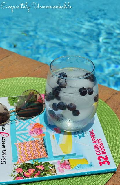 Frozen Blueberry Water Recipe