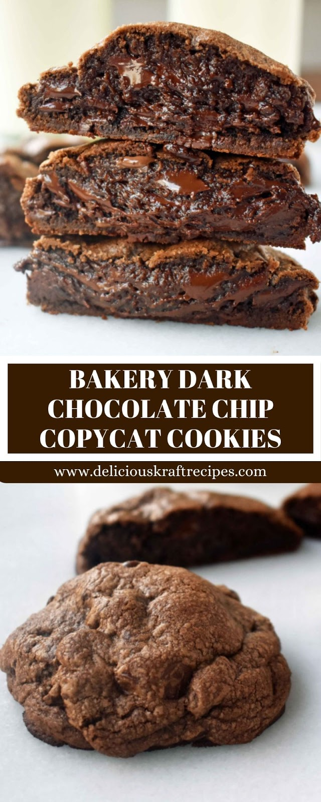 BAKERY DARK CHOCOLATE CHIP COPYCAT COOKIES