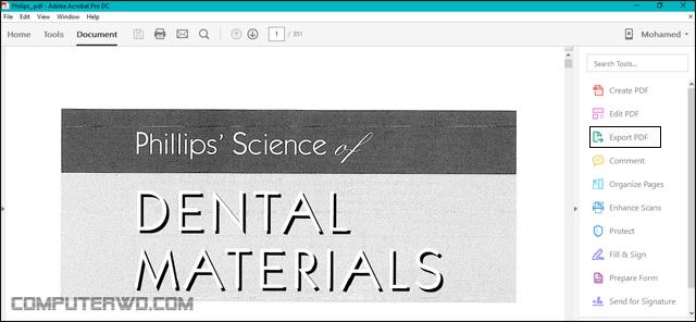 كيفية تحويل ملف PDF إلى PowerPoint 1