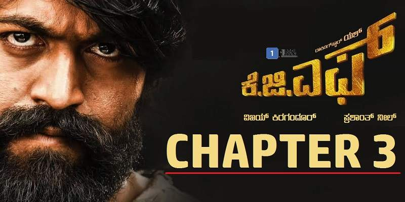 KGF Chapter 3 Poster Yash