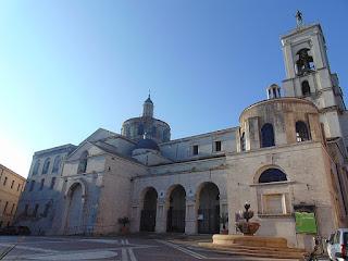 Catanzaro's rebuilt duomo, the Cattedrale di Santa Maria Assunta