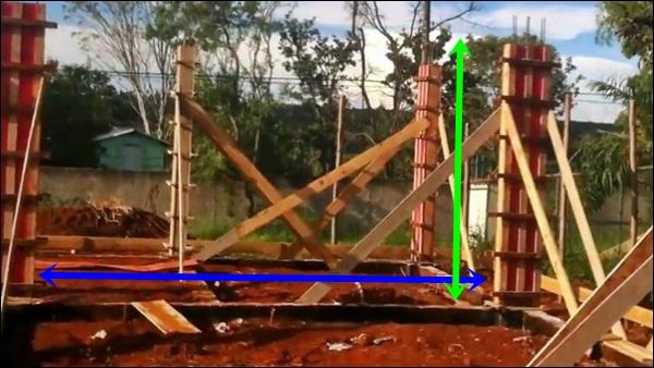 medida da parede para levantar tijolos
