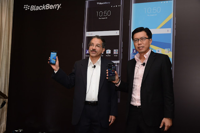 Blackberry launches its first Android based smartphone called PRIV in India for a price of Rs. 62990