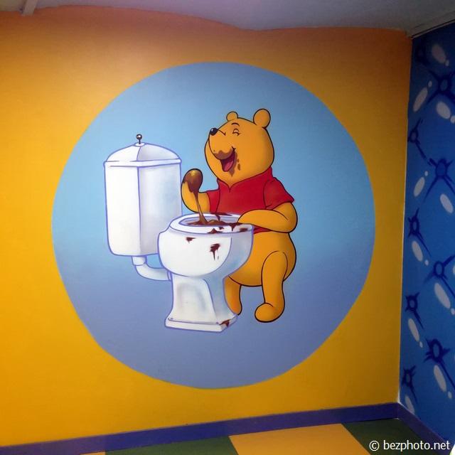 ресторан crazy toilet