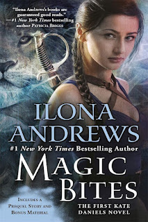 Magic bites | Kate Daniels #1 | Ilona Andrews