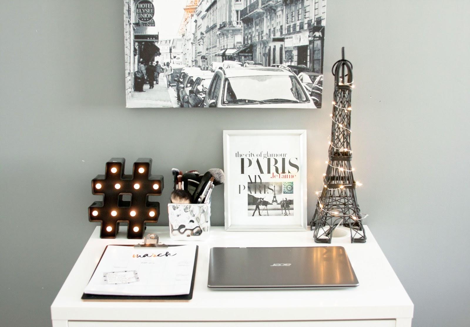 desk decor for less