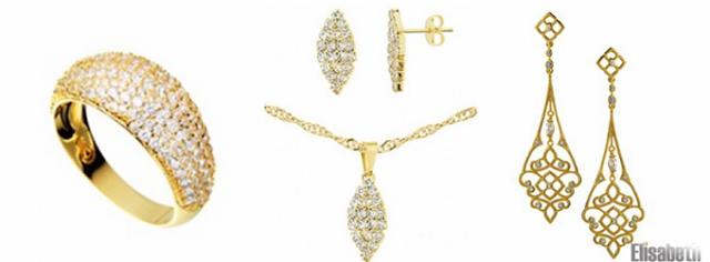Brincos, anéis e colares