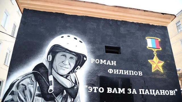russian-syrian-forces-honor-war-hero-roman-filipov-with-monument-near-saraqib