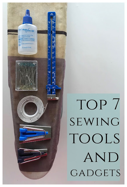 List of essential sewing supplies and notions. These are the top sewing tools you need.