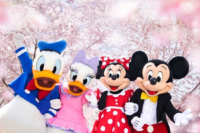 #DisneyMagicMoments, 米奇與好友 齊齊喺 上海迪士尼 賞櫻, SHDL, Shanghai Disney Resort, Shanghai Disneyland, Disney, Mickey Mouse, Minnie Mouse, Donlad Duck, Daisy Duck, Duffy, ShellieMay, Gelatoni, StellaLou, CookieAnn