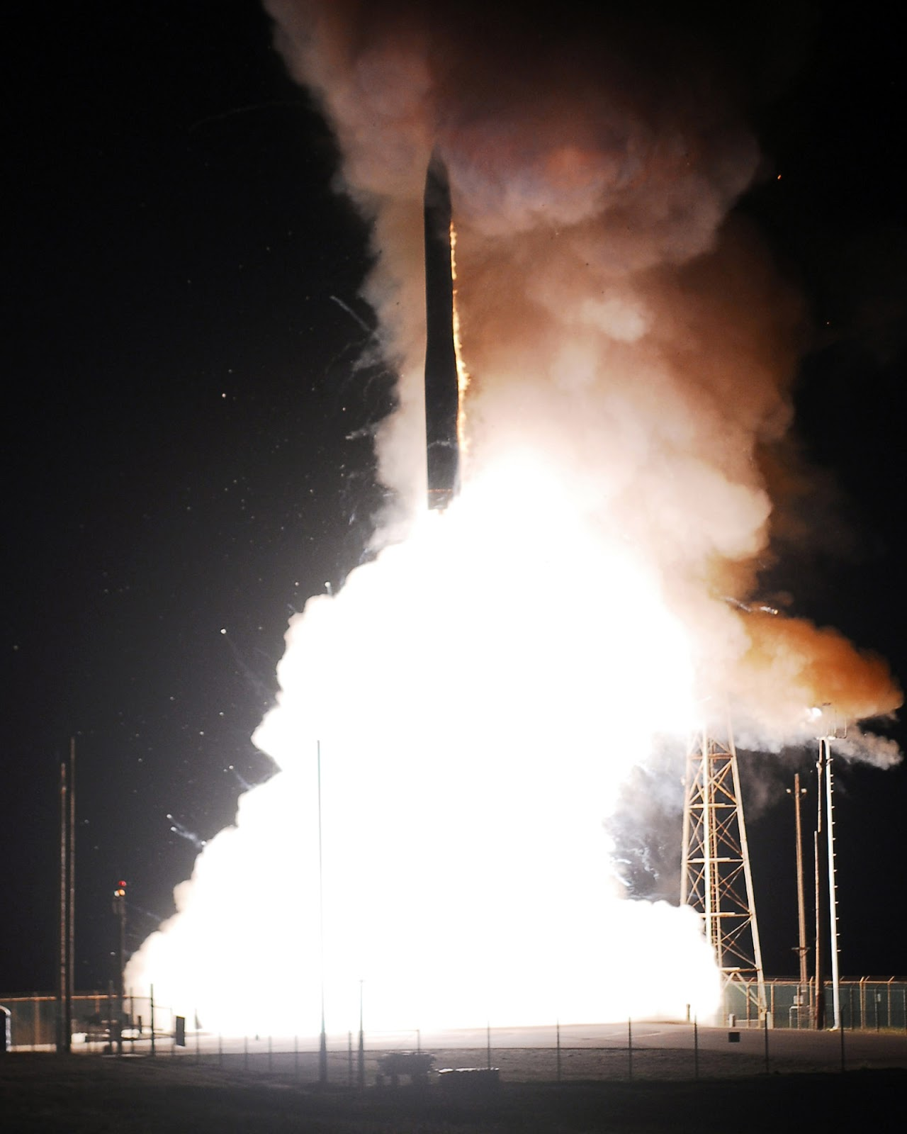 Naval Open Source INTelligence: U S  nuclear missile silos