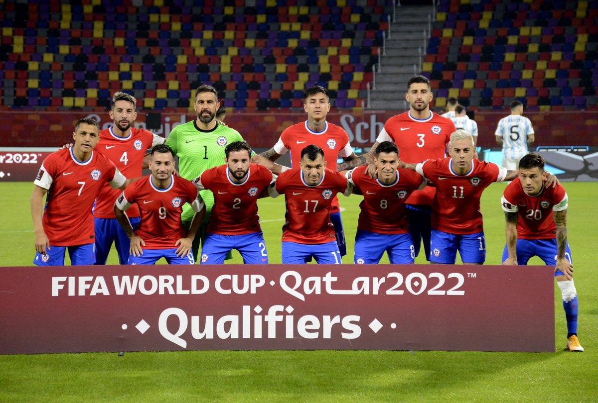 Formación de Chile ante Argentina, Clasificatorias Catar 2022, 3 de junio de 2021